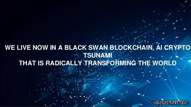 Blockchain + AI + Crypto Economics Are We Creating a Code Tsunami? Slide 3