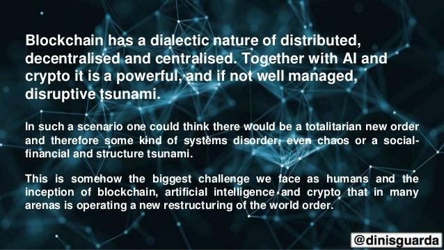 Blockchain + AI + Crypto Economics Are We Creating a Code Tsunami?