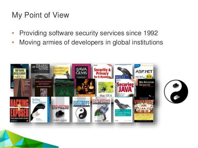 A Brief History of Software, Security, and Software Security: Bits, Bytes, Bugs, and the BSIMM Slide 2