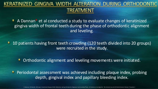 relationship of gingival thickness and bleeding