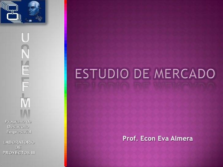 Prof. Econ Eva Almera