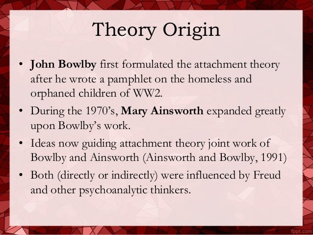 attachment theory theory