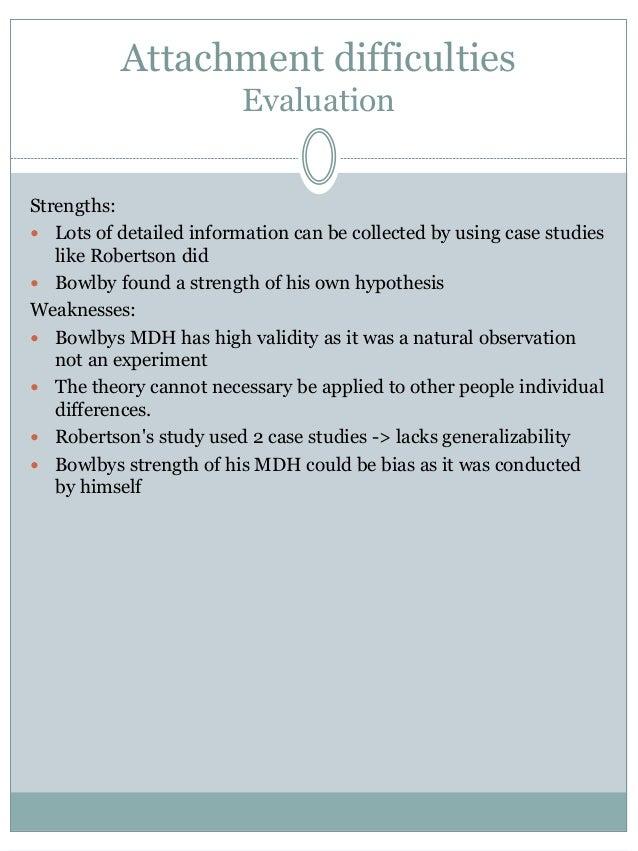 A study on bowlbys attachment theory psychology essay