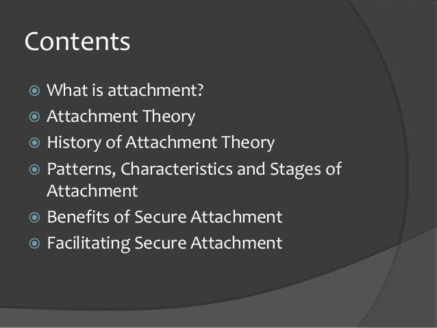 relevance of attachment theory Understanding attachment theory can help enhance the mentoring process   this is relevant to the theory of attachment, when the power relationship may.