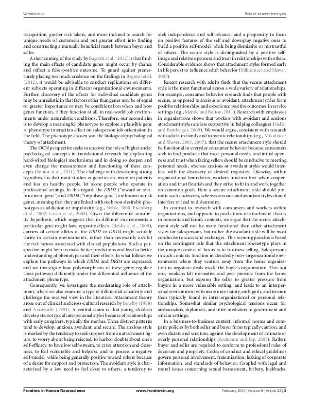 the role of attachment styles in And none have investigated the role of teachers' attachment styles and classroom management efficacy in predicting their use of specific conflict management styles the limited research that has investigated the impact of attachment styles upon conflict.
