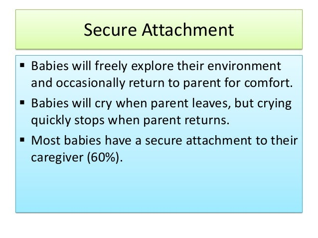 attachment theory 10 Looking for sharp info on attachment theory get precise info on the strengths and weaknesses of infant attachment theory.