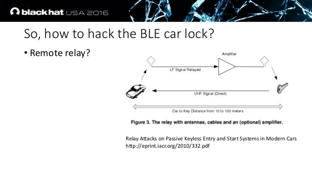 ... 10. So, how to hack the BLE ...