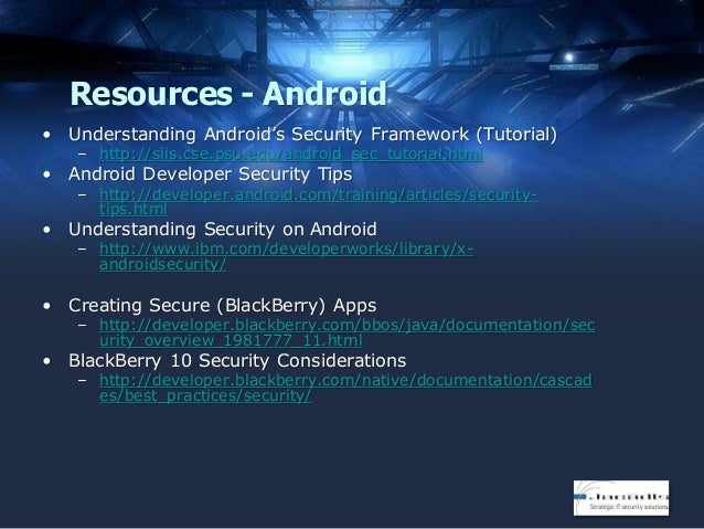 Attacking and Defending Mobile Applications