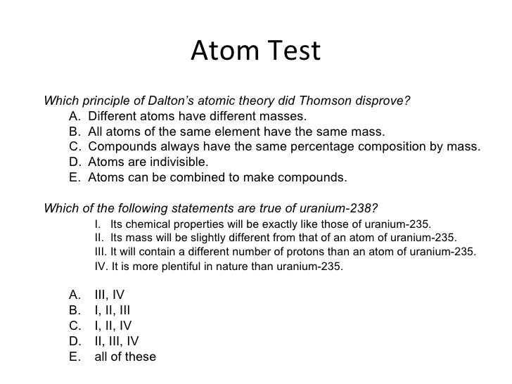atomic structure essay History of the atom project the atomic theory of matter is an excellent illustration of the process of science  redefining what it is and what its structure is.