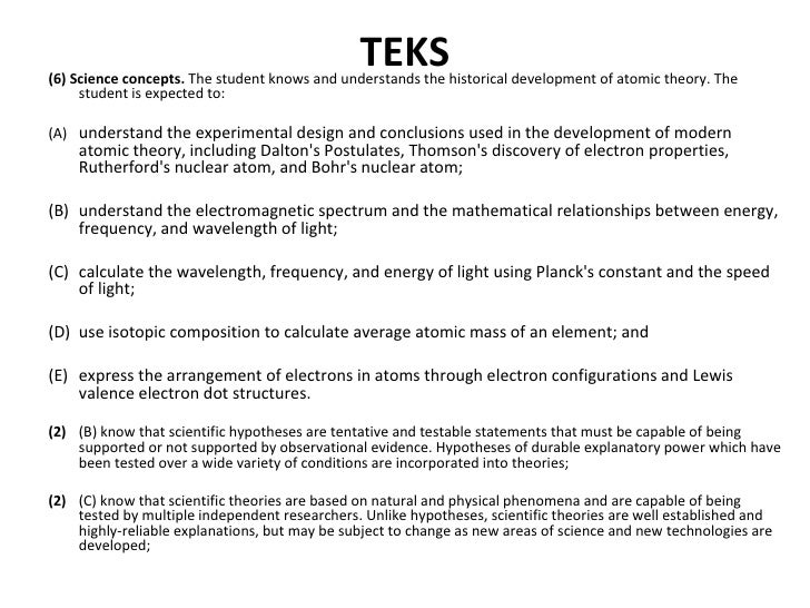 Attacking the teks atomic structure attacking the teks atomic structure jane smith centennial high school frisco tx emailaddress 2 ccuart Image collections