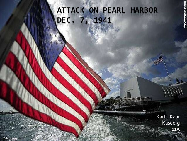 wwii pearl harbor attack