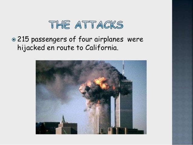 Attacks of september 11 in usa  Slide 2