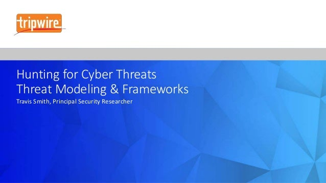 Hunting for Cyber Threats Using Threat Modeling & Frameworks