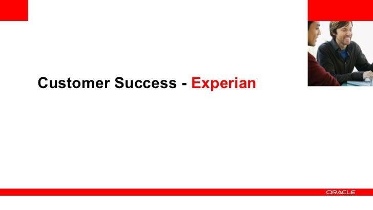 Customer Success - Experian