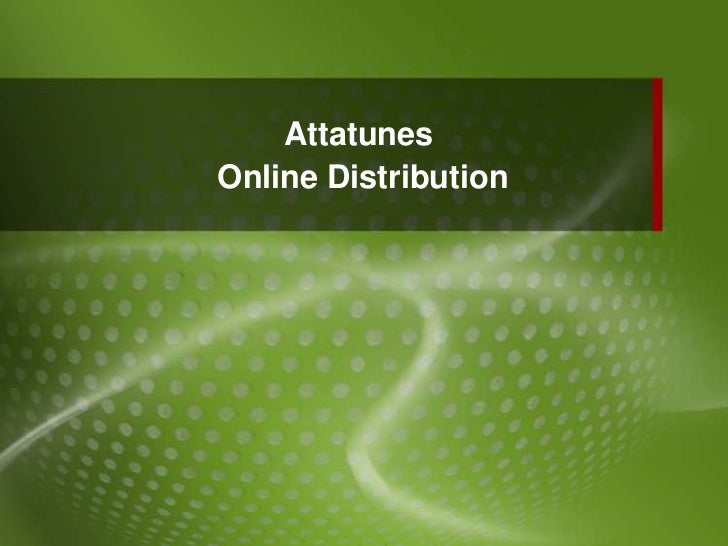 AttatunesOnline Distribution