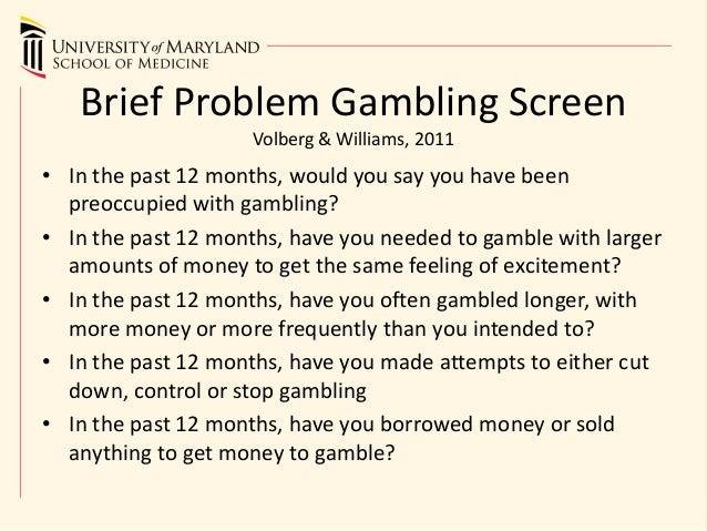 Brief biosocial gambling screen anna kournikova poker