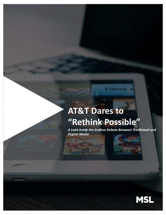"AT&T Dares to ""Rethink Possible"""