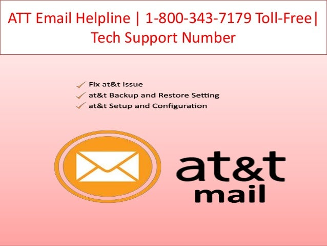 Att email support toll free (800) 343-7179 phone number
