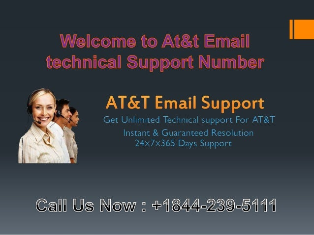 At&t email technical support number 1-844-239-5111