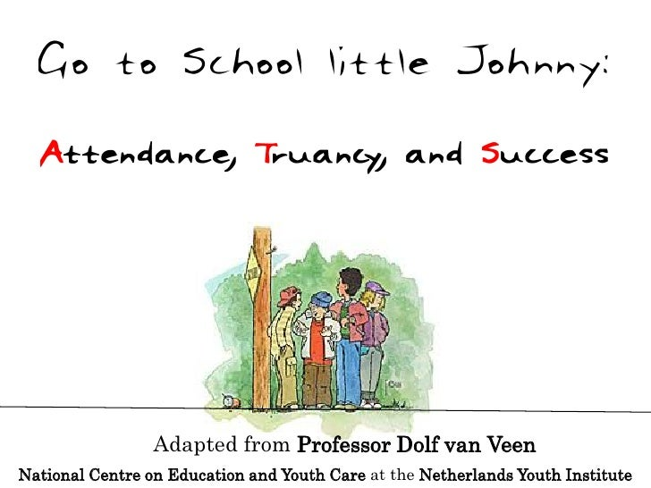 Adapted from Professor Dolf van Veen National Centre on Education and Youth Care at the Netherlands Youth Institute