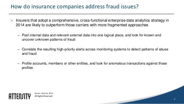 Surfacing Early Fraud Indicators for Insurance Companies