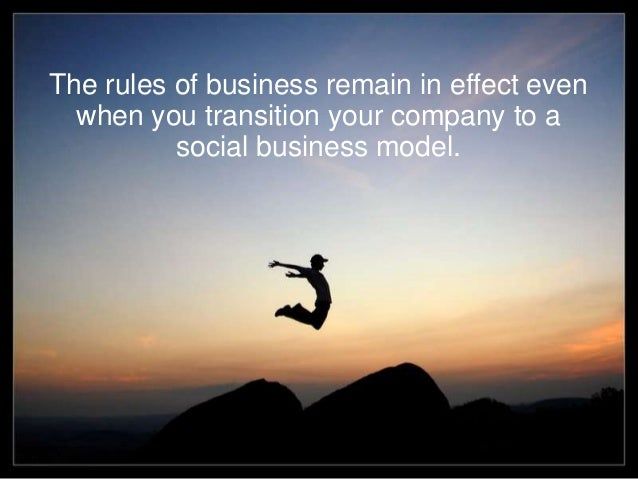 Yes, social ROI can be determined Slide 2