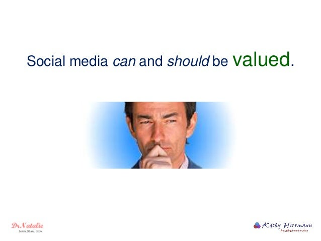 Yes, social ROI can be determined Slide 3