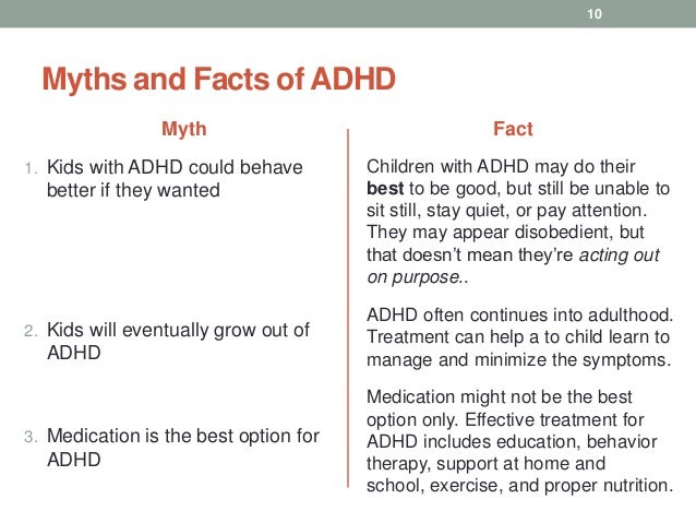 Can You Have Adhd And Still Be Good >> Attention Deficit Hyperactivity Disorder