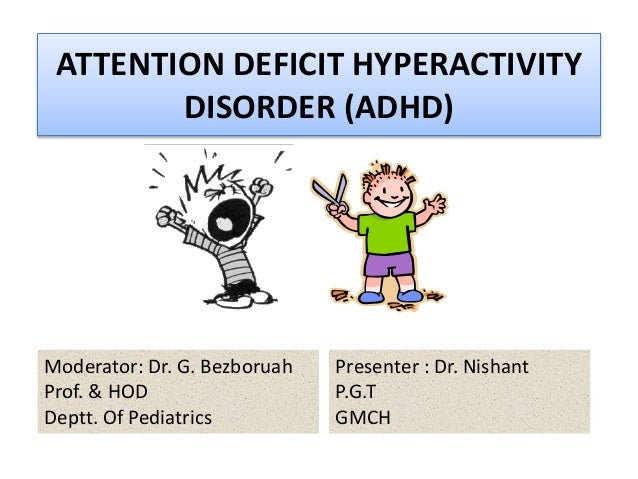 An analysis of attention deficit hyperactivity disorders