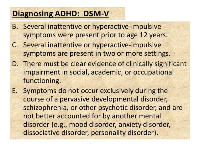 the signs and symptoms of attention deficit hyperactivity disorder Attention deficit hyperactivity disorder (adhd) is commonly associated with children, but it can progress into adulthood and present its own unique challenges at a later age.