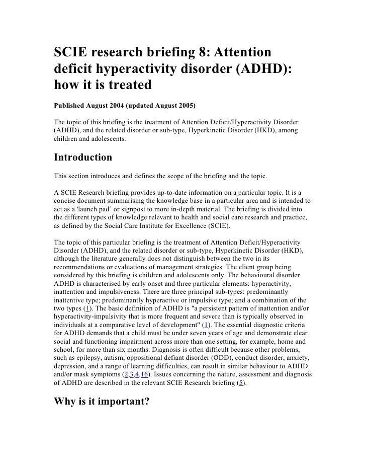 Dating någon ADHD Hyper