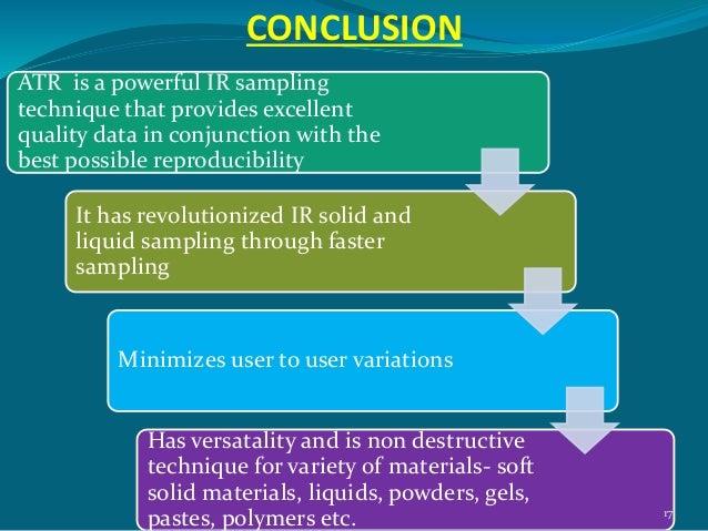 sampling techniques in ir spectroscopy pdf