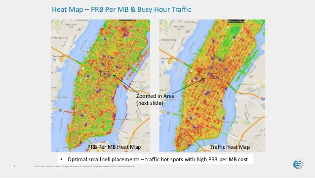 ATT HetNet Small Cell Placement And The Resulting Performance - Att cell map