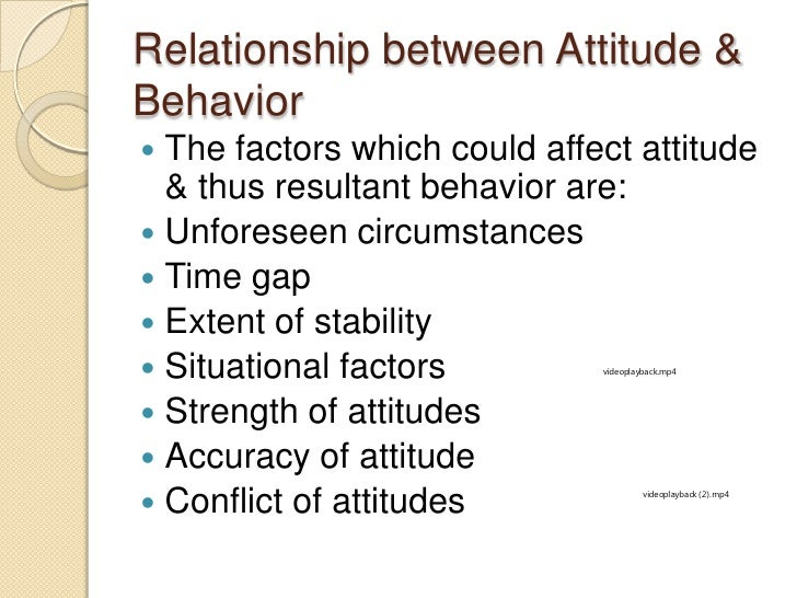 attitude and behaviour relationship poems