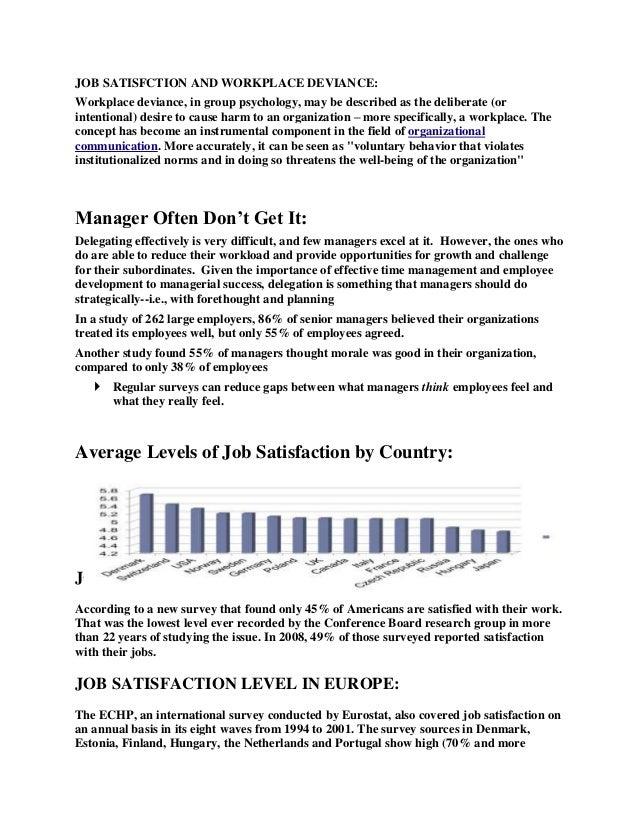 A Brief Overview towards Job Satisfaction   Live dkelana s life