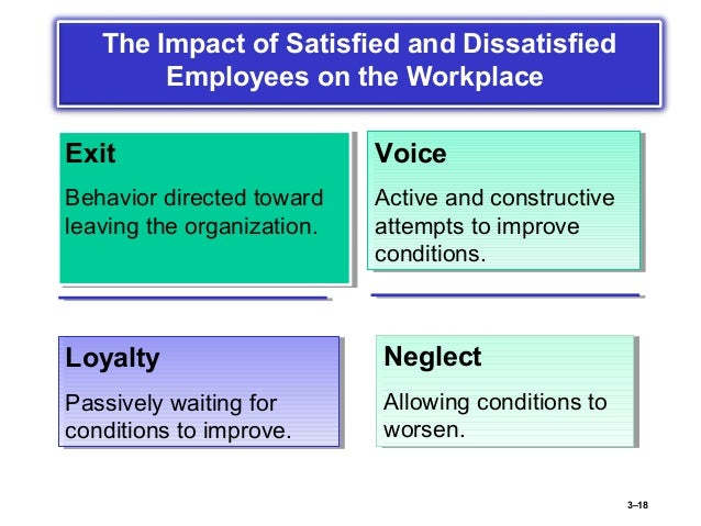 how workers attitude and job satisfaction Literature review on employee attitudes and job satisfaction management essay  to influence job satisfaction, the work itself are frequently ignored by.