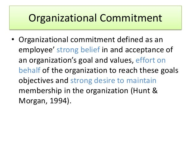employee commitment and attitude Workplace performance, worker commitment and loyalty using matched employer-employee level data drawn from the 2004 uk workplace and in addition, we explore the determinants of such employee attitudes towards the organization for which they work in order to establish how such.