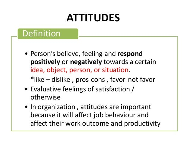 "employee commitment and attitude Unidimensional construct reflecting employees"" attitudes toward the  of  organizational commitment strictly as the attitude toward the."