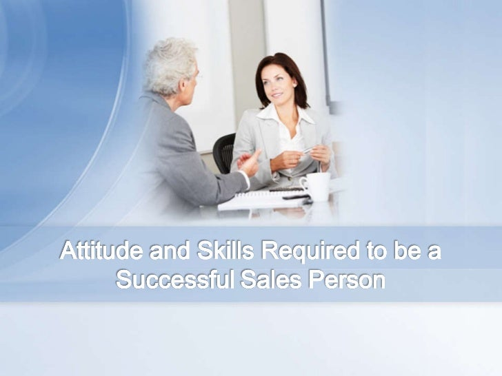 how to be a successful salesperson