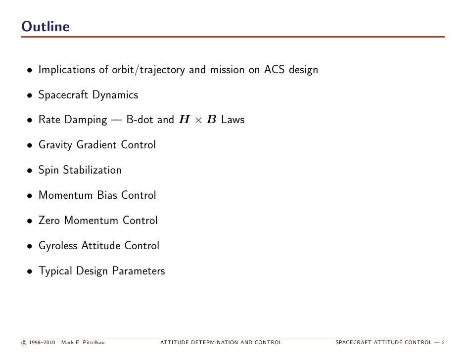 spacecraft attitude determination and control - photo #26