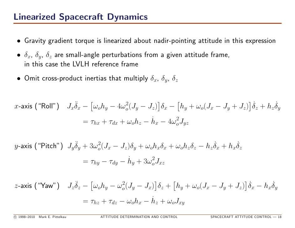 spacecraft attitude determination and control - photo #25