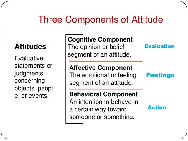 i the conceptual model tricomponent attitude Current conceptions of attitude do not adequately distinguish between attitudes and factual beliefs on the one hand, or between attitudes and preferences on the other to hold an attitude is to ascribe an objective moral property to the attitude‐object however, the conception of such properties rests on an incoherent theory of relations as.