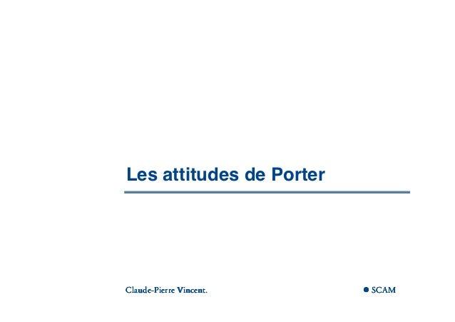          Les attitudes de Porter       Claude-       Claude-Pierre Vincent. ...