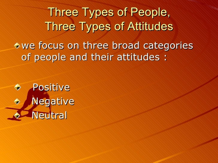 types of attitude `4 types of job attitudes – which one are you` did you know there are different types of job attitudes find out which one you are 1 the way a.
