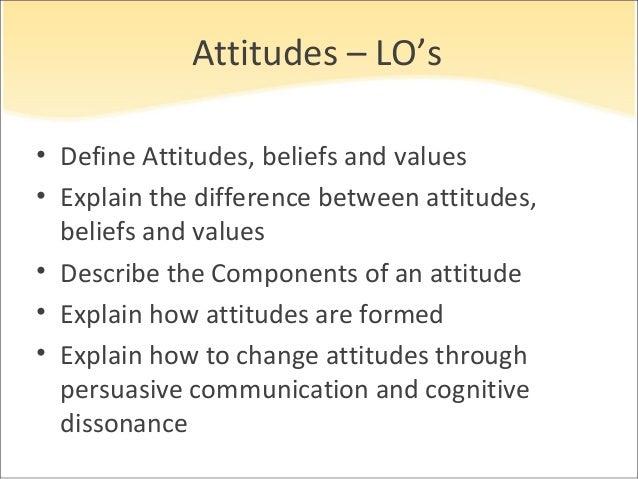 summarize the relationship between attitudes and behavior