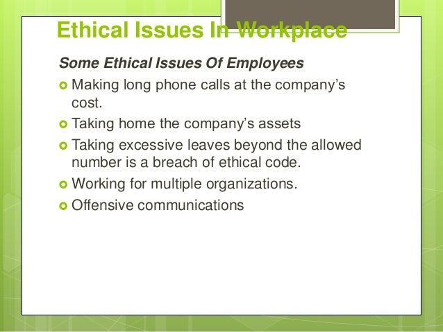 a workplace example of an ethical dilemma related to termination Go hand in hand learn how to resolve ethical dilemmas and gain the trust of key stakeholders  factsheets podcasts reports explore our related content.