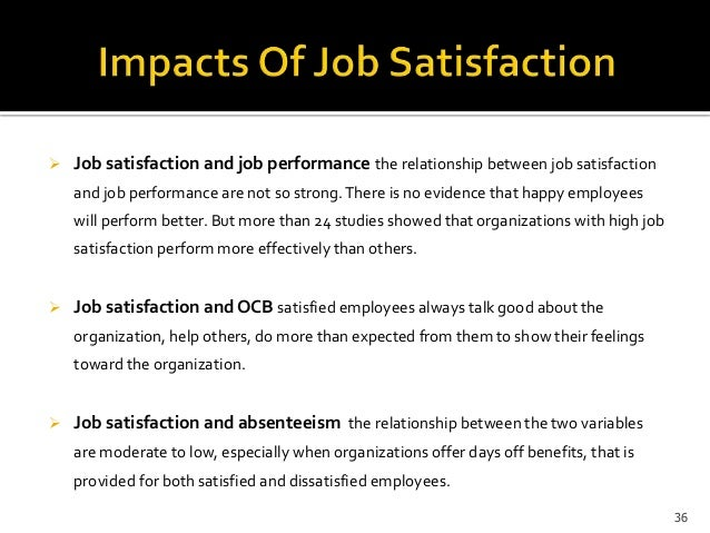thesis of employee satisfaction Impact of employees motivation on organizational of employees' motivation on organizational effectiveness employee motivation, employee satisfaction.