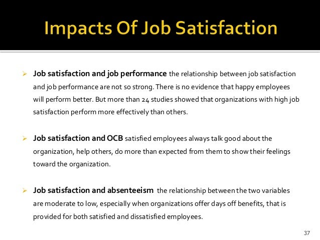 job satisfaction and employees performance 2015 employee job satisfaction and take the pulse of your employees today with shrm's employee survey service culture job satisfaction other benefits other.
