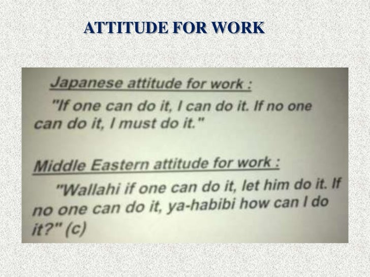 attitude towards work Did you define your attitude at work the most important thing to do as you begin your new career is to start defining your own attitude towards work.