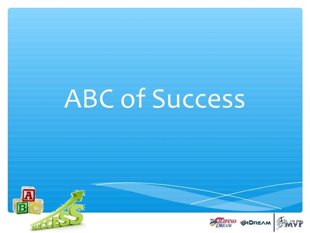 ABC of Success